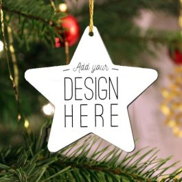 Star Keepsake Ornament – 2 sided