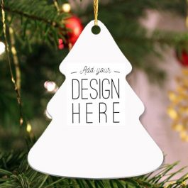 Holiday Tree Keepsake Ornament – 2 sided